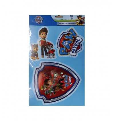 Infantiles pegatinas pata patrulla 3pz 160133 Accademia- Futurartshop.com