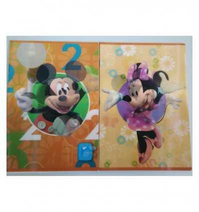 Soczewkowy quadernone Mickey i minnie rigo 5 mm 78657 Dedit- Futurartshop.com