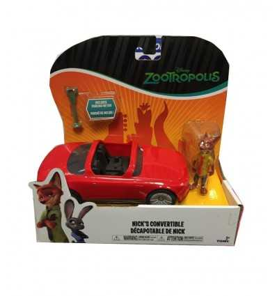 zootropolis nick compteurs voitures L70902/L70022 Tomy- Futurartshop.com