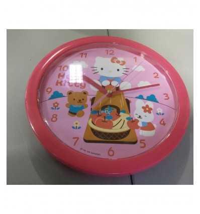 こんにちはキティの壁掛け時計 Sanrio- Futurartshop.com