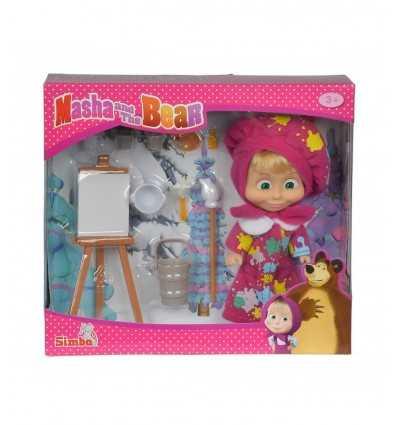 Puppe Masha Maler 109302047 Simba Toys- Futurartshop.com