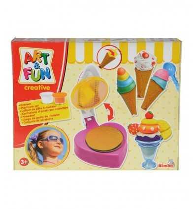 arte y modelado de arcilla dulce helado 106325419 Simba Toys- Futurartshop.com