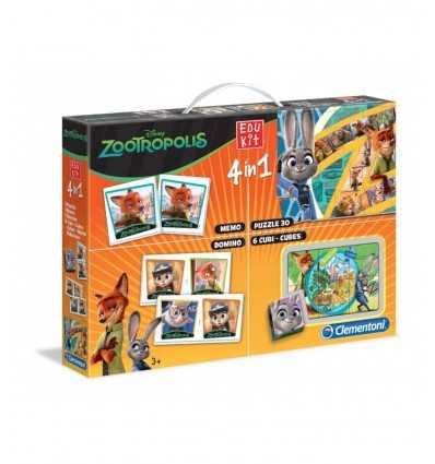 4 i 1 zootropolis edukit 13391 Clementoni- Futurartshop.com
