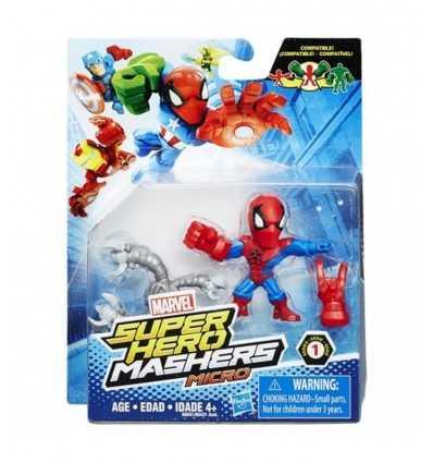 personaggio hero mashers micro spiderman B6431EU40/SPI Hasbro-Futurartshop.com