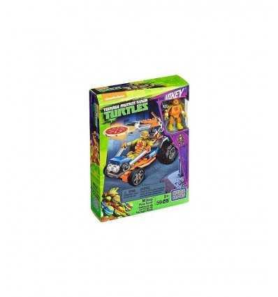 turtles mega bloks bolide launches mikey's pizza DMX36/DMX38 Mattel- Futurartshop.com