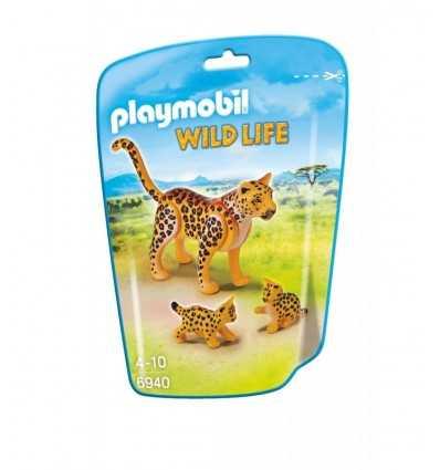 Playmobil Leopard with cub 6940 Playmobil- Futurartshop.com