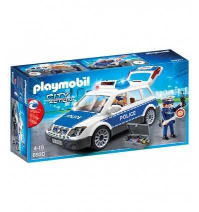 PLAYMOBIL voiture de police 6920 Playmobil- Futurartshop.com