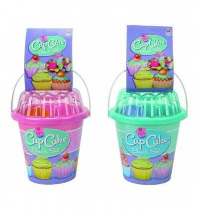 secchiello cup cake set mare 2 colori 1290 -Futurartshop.com