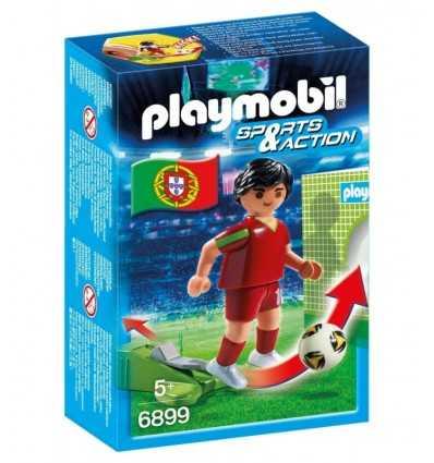 playmobil giocatore Portogallo 6899 Playmobil-Futurartshop.com