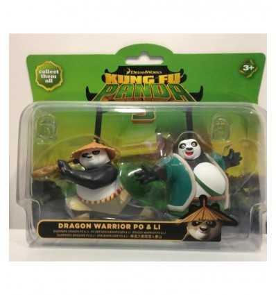 kung fu panda 3 personaggi dragon warrior po e li GG00992/3 Grandi giochi-Futurartshop.com