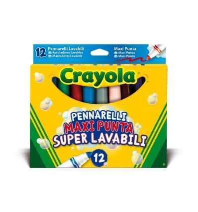 pointe de 12 marqueurs maxi lavable crayola 8330 Crayola- Futurartshop.com