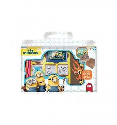 Briefcase 7 stamps minions 0007896 Crayola- Futurartshop.com