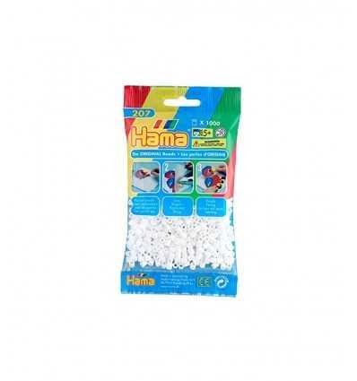 Hama sac blanc 1000 perles 207-01.AMA Hama- Futurartshop.com