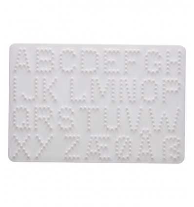 perforated Panel base numbers and letters hama 4455.AMA Hama- Futurartshop.com