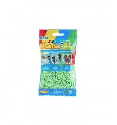 Hama bag 1000 pastel green beads 207-47.AMA Hama- Futurartshop.com