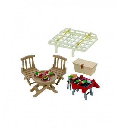 luggage rack with picnic set sylvanian families 2884.SYL Epoch- Futurartshop.com