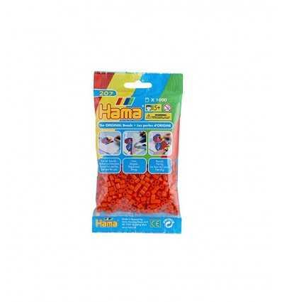 Hama Tasche 1000 Orange Perlen 207-04.AMA Hama- Futurartshop.com