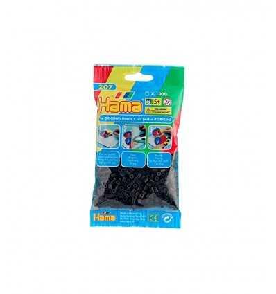Bolsa de Hama cuentas 1000 negro 207-18.AMA Hama- Futurartshop.com