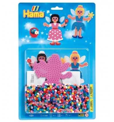 1100 hama beads with base fairy blister 4015/4013 Hama- Futurartshop.com