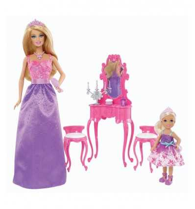 barbie e chelsea principesse stanza vanity BCP35/BJX77 -Futurartshop.com