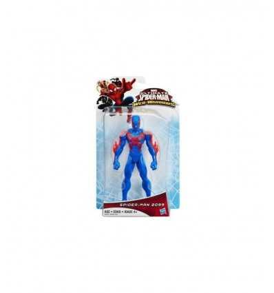 ultimate spiderman personaggio spiderman 2099 blu B0565EU40/B2464 Hasbro-Futurartshop.com