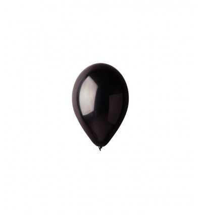 Palloncino liscio nero B014A/N -Futurartshop.com