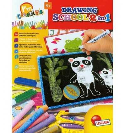 Jestem kreatywny tworzy dziennik szkolny 2 w 1 47710 Lisciani- Futurartshop.com