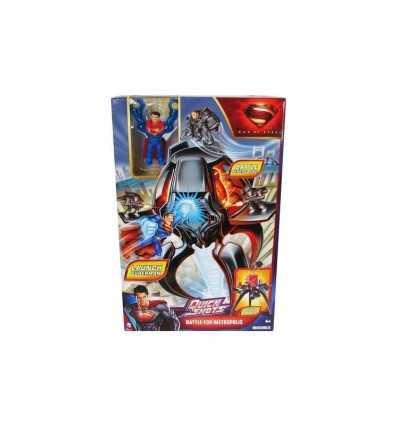 Superman Man of Steel Quickshots Battle Metropolis Y0821 Y0821 Mattel- Futurartshop.com