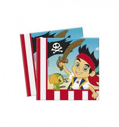 Servilletas de jake del pirata CMG80685 Como Giochi - Futurartshop.com