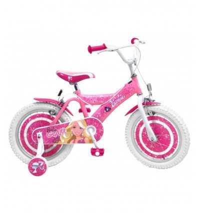 bicicletta barbie 16 rosa B812621 Stamp-Futurartshop.com