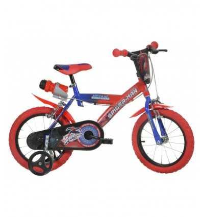 bici 16 spiderman rossa 163G SP Dino bikes-Futurartshop.com