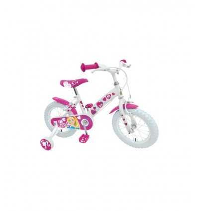 Blanco bicicleta barbie 14 CB900368SE Stamp- Futurartshop.com