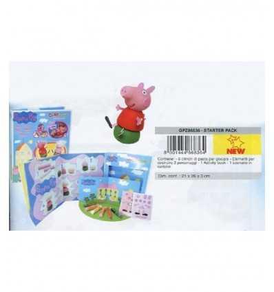 Pack de pasta de modelar de Peppa Pig GPZ86836 giochi preziosi GPZ86836 Giochi Preziosi- Futurartshop.com