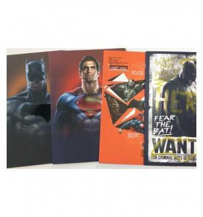 Batman och superman quadernone rigo q 160527 Accademia- Futurartshop.com