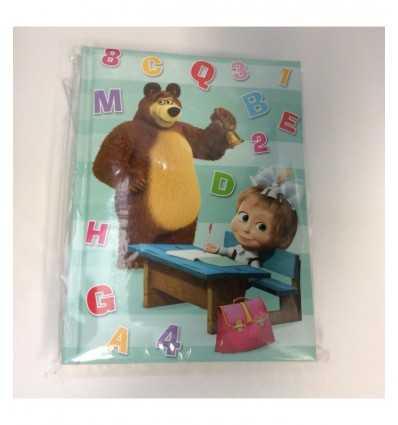 standard 12-month diary masha and green bear 2016-2017 165101/2 Accademia- Futurartshop.com