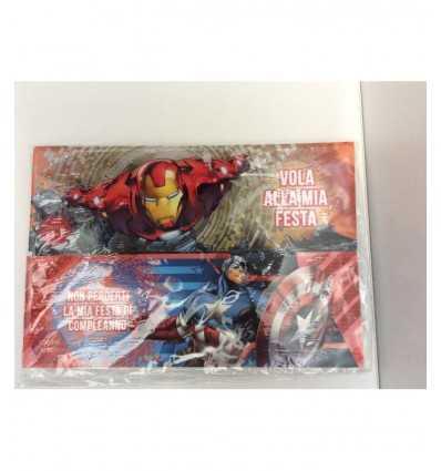 Avengers 2 party inbjudningar mallar 161646/A Accademia- Futurartshop.com
