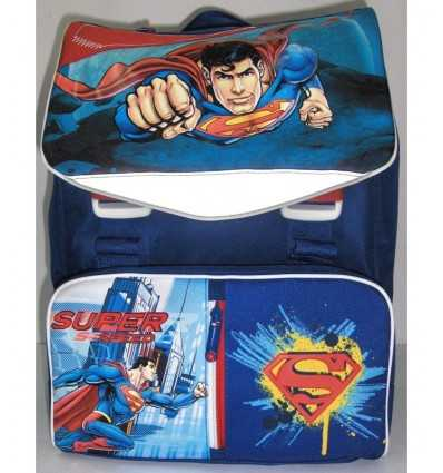 Superman backpack expandable multifunction with headphones 162150/A Accademia- Futurartshop.com