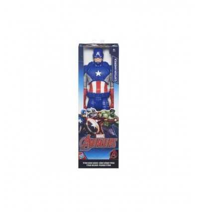 Titan Vengeurs capitaine america B6660EU40/B6153 Hasbro- Futurartshop.com