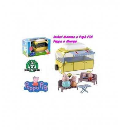 Giochi preziosi Peppa Pig Camper con 4 personajes CCP02256 CCP02256 Giochi Preziosi- Futurartshop.com