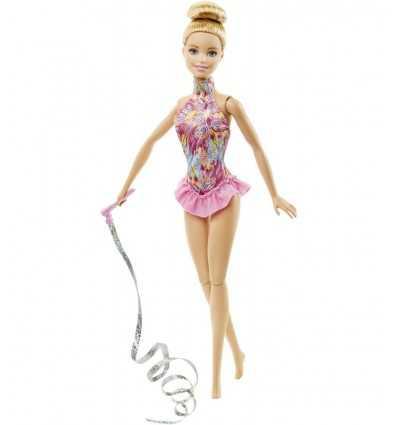 gymnaste rythmique Barbie classique avec ruban DKJ16/DKJ17 Mattel- Futurartshop.com