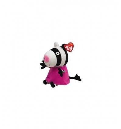 Zoe Zebra 16.cm Peppa Pig serie TY46174 TY46174 -Futurartshop.com