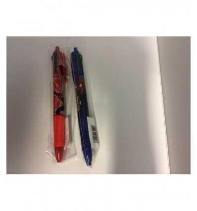 Spiderman-Stift gedreht mit 4 Farben 145216/2 Accademia- Futurartshop.com