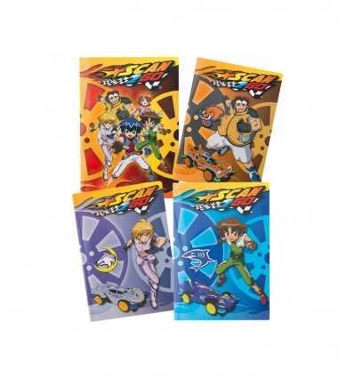 Giochi preziosi Notebook A4 line 1 cm Scan 2 go LSC12519 LSC12519 Giochi Preziosi- Futurartshop.com
