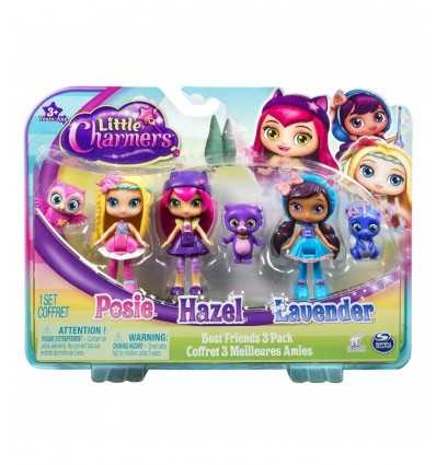 little charmers Pack 3 characters with friends 6026683 Spin master- Futurartshop.com