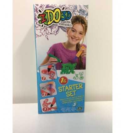 IDO 3D kreative Kits mit Stift Buchstaben fantasy Thema GPZ55203-1 Giochi Preziosi- Futurartshop.com