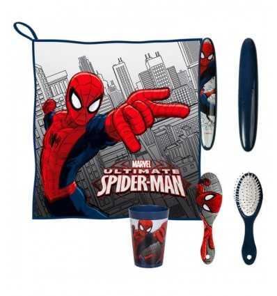 travel hygiene Kit spiderman 2500000505 Cerdà- Futurartshop.com