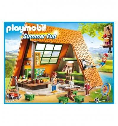 Dom wakacyjny z placu zabaw i piknik tabel 6887 Playmobil- Futurartshop.com