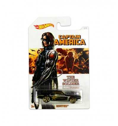 Hot Wheels fordonet captain america-rivited DJK75/DJK76 Mattel- Futurartshop.com