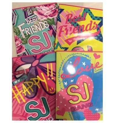 quadernone girl sj gang seven rigo Q 501001604Q Seven-Futurartshop.com