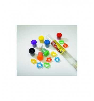 Art&Fun Simba-Tubi con 8 vasetti Pasta da modellare piu accessori 106329290 106329290 Simba Toys- Futurartshop.com
